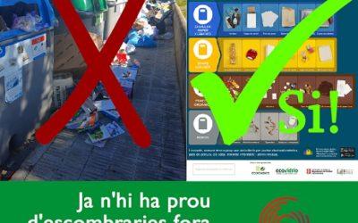 Torredembarra en Comú: ' A voltes amb les escombreries'