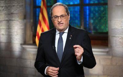 Torra exigeix a l'Estat un acte solemne on el rei i Sánchez demanin disculpes per l'afusellament de Companys
