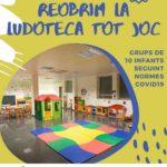 L'Ajuntament de Vila-seca reobre la ludoteca Tot Joc i l'espai Jove a partir del mes d'octubre