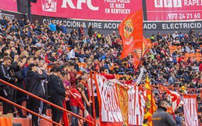 El Nàstic jugarà el primer partit de lliga a casa amb públic