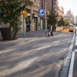 Aquest diumenge s'asfaltarà l'accés de l'aparcament del Mercat Central pel carrer Colom