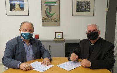 El CCT i Museu Bíblic signen un conveni de col·laboració per potenciar 'Tarracròpolis'