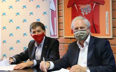 CaixaBank patrocina el Nàstic per onzena temporada consecutiva