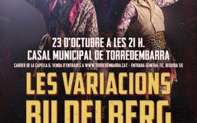 El 23 d'octubre es presenta a Torredembarra l'obra 'Les Variacions Bildelberg', produïda per la Sala Trono