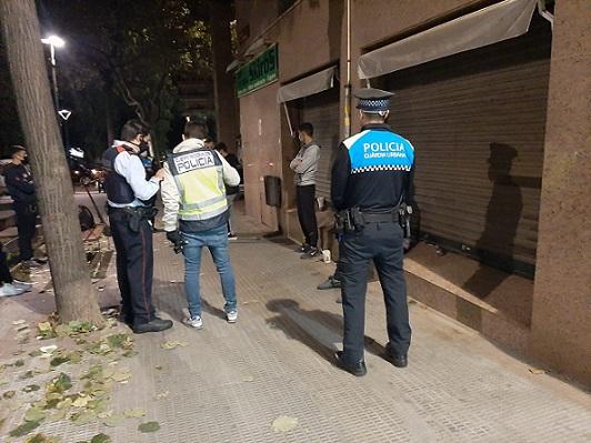 Tres detinguts en un dispositiu conjunt dels Mossos d'Esquadra i la Guàrdia Urbana de Reus al barri Horts de Simó