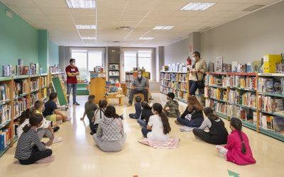 La Biblioteca Municipal torna a engegar el projecte 'Mirmiga' amb la col·laboració de les escoles del municipi