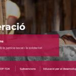 L'àrea de cooperació de l'ajuntament presenta les cinc activitats en línia per aquesta tardor