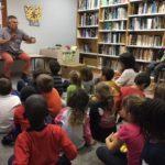 El Consell dinamitza la lectura a les bibliotequesde la comarca amb el cicle de contes 'Rodona i blava, contes sobre la Terra'