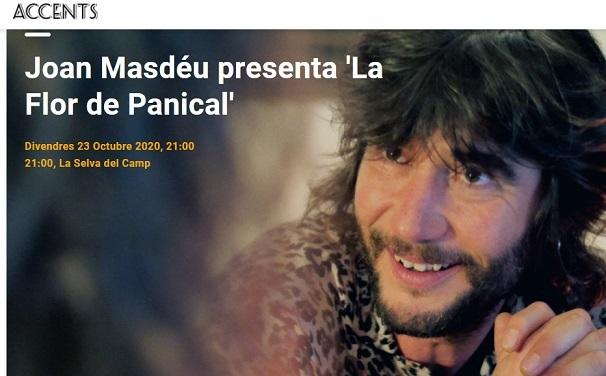 Accents porta aquest divendres Joan Masdéu a La Selva del Camp