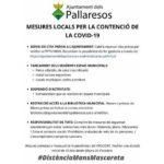 Els Pallaresos implementa mesures anticovid de caràcter local a les anunciades pel govern