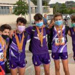 Allau de medalles tarragonines al Campionat de Catalunya de relleus