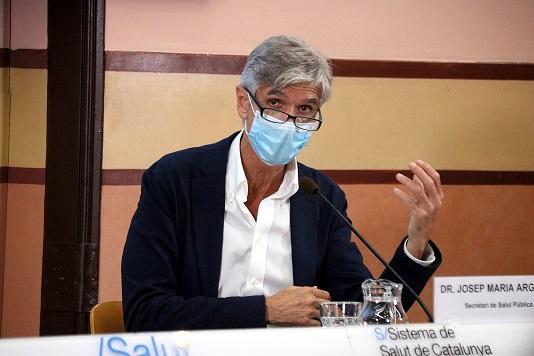 Argimon sobre la dosi a l'alcalde de Riudoms: «No és ètic vacunar-se si ets responsable públic i no tens més de 70 anys»