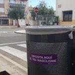 La Pobla de Montornès se suma a la campanya 'Diposita aquí el teu masclisme'