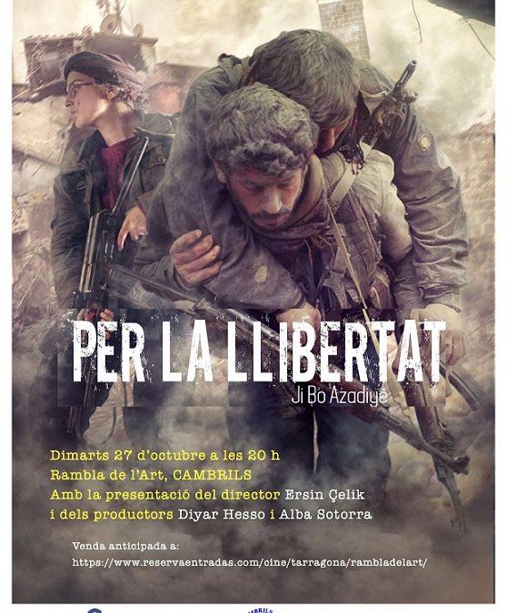 La projecció de 'Per la Llibertat' al Cinema Rambla de l'Art s'avança a les 18.30 hores