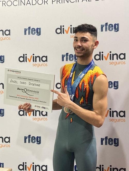 El constantinenc Ángel Darío Rodríguez, campió d'Espanya de Gimnàstica Rítmica