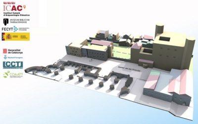 El projecte Tarracròpolis dona accés a una col·lecció de 24 models de patrimoni en 3D