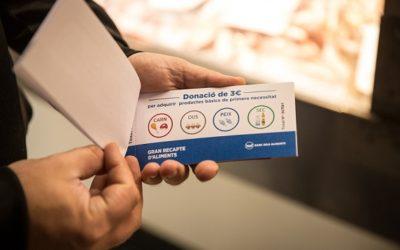 Els Mercats de Tarragona recullen mes de 2.500€ durant el Gran Recapte d'Aliments