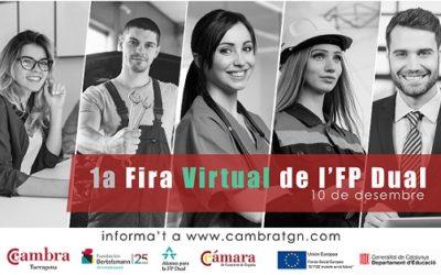 La Fira de l'FP Dual s'estrenarà en format virtual