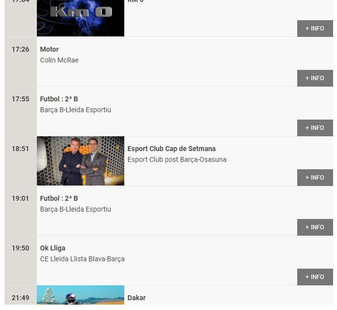 La programació del canal públic Esport 3 aquest diumenge: quatre partits del Barça i la roda de premsa de Koeman