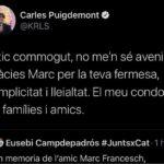 Puigdemont recorda l'empresari tarragoní mort en accident d'avioneta