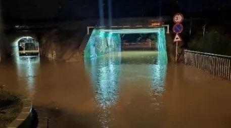 Tarragona activa l'alerta  pel risc d'inundacions