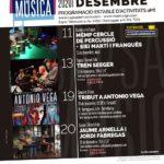 La Capsa de Música torna a obrir i reprograma el concert tribut a Antonio Vega a Torreforta