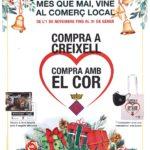 Comença la campanya 'Compra a Creixell, compra amb el cor'