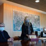 La consellera Ponsa visita el Port Tarragona per conèixer els equipaments culturals del Moll de Costa
