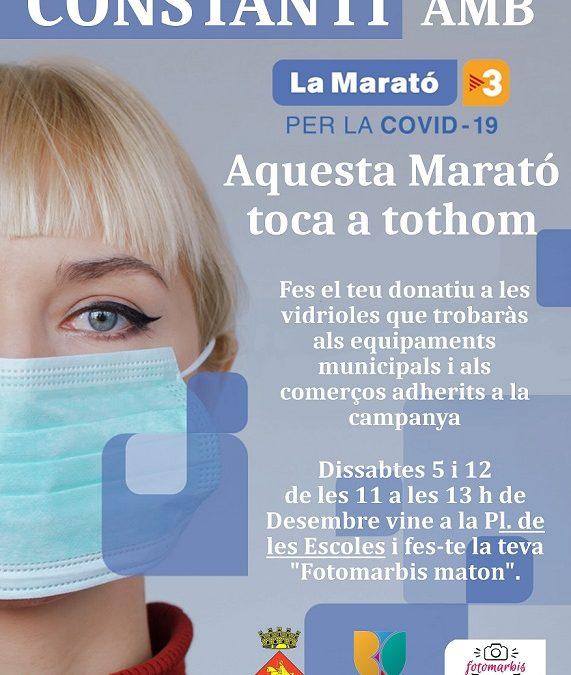 Constantí col·labora amb la Marató de TV3 amb vidrioles a comerços i equipaments i un Fotomatón solidari