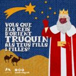 Mont-roig gestiona amb els Reis d'Orient perquè la seva màgia arribi als nens i nenes del municipi