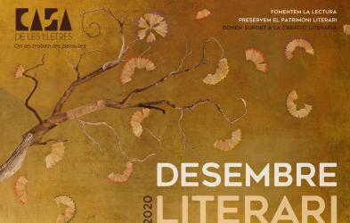 Es presenta la programació 'Desembre Literari' que comptarà amb set activitats d'ara fins a finals d'any