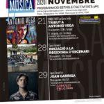 Ajornat el concert de tribut a Antonio Vega per Santa Cecília