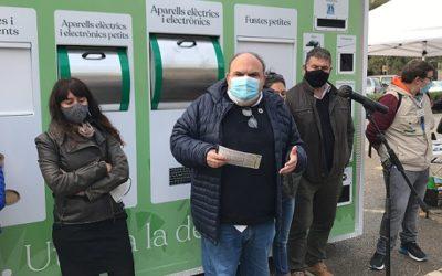 Tarragona renova el servei de deixalleries mòbils per evitar l'incivisme i la post-venda dels residus sostrets