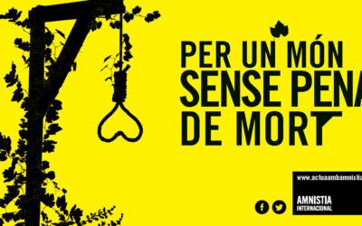 Tarragona celebra dilluns el Dia Mundial contra la pena de mort