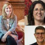 Raquel Sans, Ramon Font i Marina Berasategui (ERC): 'L'habitatge, peça clau de l'estat del benestar'
