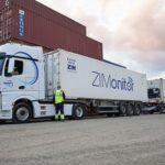 Un megacamió comença a operar al Port de Tarragona