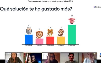 Una aplicació per connectar escaladors amateurs guanyadora de la 1a Hackathon online Tarragona Talent