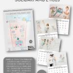 El Servei de Pediatria de l'Hospital Universitari Joan XXIII edita el calendari solidari 2021