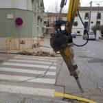 Actuacions de millora de les voreres en diferents carrers de Baix a Mar i del centre d'Altafulla