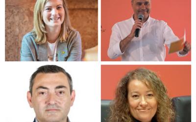 Raquel Sans, Jordi Salvador, Laura Castel i Josep Rufà (ERC): 'A la República Catalana hi hem de ser totes i tots'