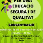 USTEC-STEs (IAC) es concentrarà dimecres davant del Gabriel Ferrater de Reus en suport dels docents