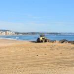 Transfusió de sorra entre la platja de la Paella i la Llarga per restaurar els efectes del Glòria