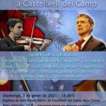 Àngel Òdena, gran estrella del Concert de Nadal de Castellvell, que no es rendeix a la pandèmia