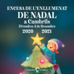 Cambrils celebra un acte virtual d'encesa de l'enllumenat de Nadal