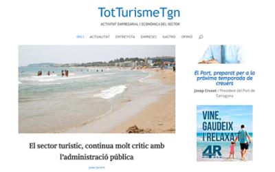 Neix TotTurismeTgn, un nou mitjà de comunicació digital