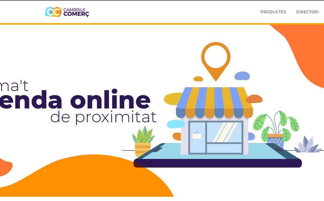 Es posa en marxa la plataforma de venda online Cambrils Comerç