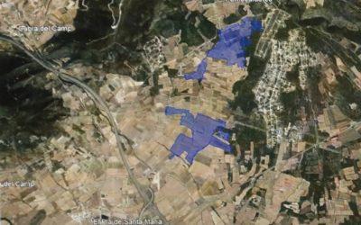 Llum verda al projecte de 87 hectàrees de plaques solars a Cabra del Camp