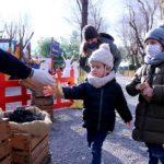 Cavalcada 'estàtica' a Reus amb un campament reial obert a les visites guiades