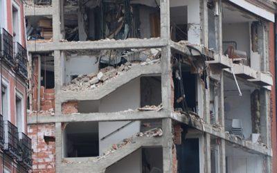 S'eleven a quatre les víctimes mortals en l'explosió de l'edifici al centre de Madrid