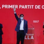 El PSC guanya les eleccions en vots i empata amb escons amb ERC